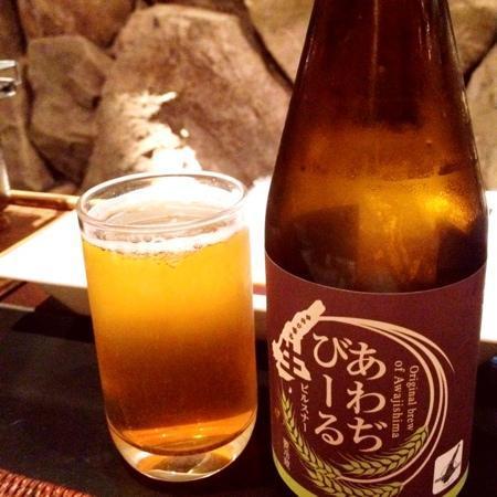 Hotel New Awaji Bettei Awaji Yumesenkei: 淡路ビールもおすすめです!