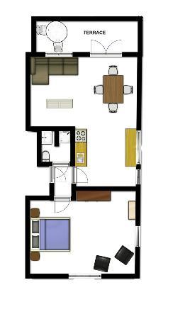 Frankendael Apartments: Floorplanner 4 person apartment
