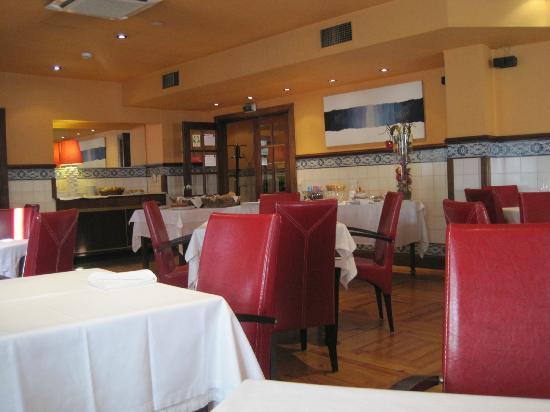 Hotel Internacional : salle des petits déjeuners