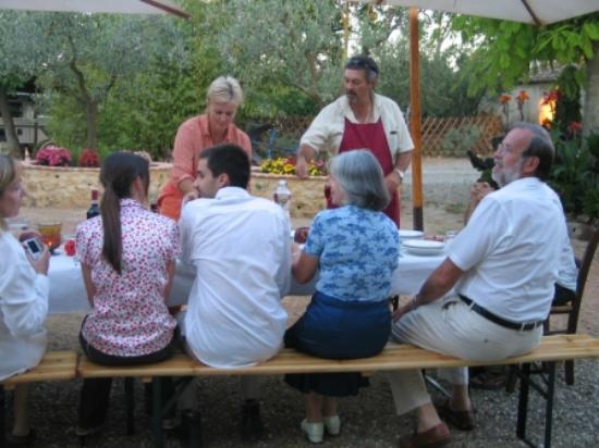 Agriturismo Saletta: Cena a Saletta