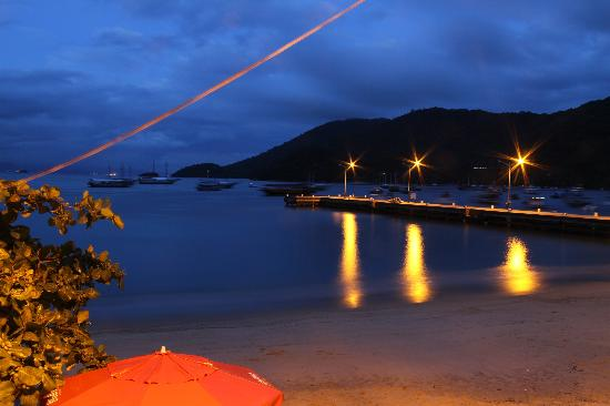 Pousada Mar Azul: vue du restaurant