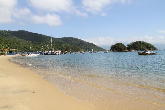 Pousada Mar Azul: La plage juste devant