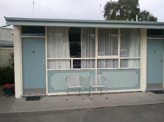 Amber Kiwi Holiday Park Christchurch: Flat Exterior
