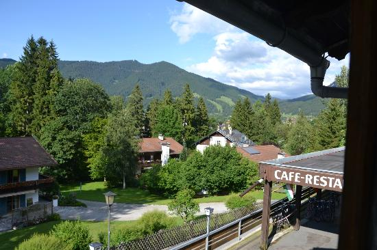 Hotel Friedenshöhe: Utsikt från rummet