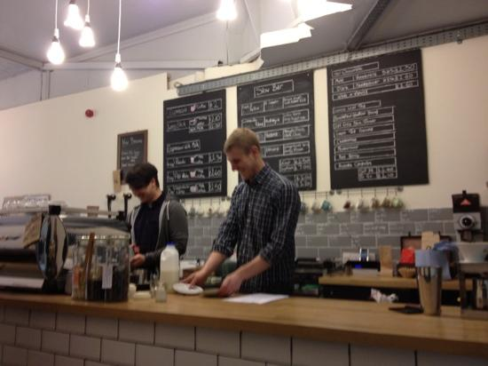 Pink Lane Coffee: friendly and knowledgeable Baristas