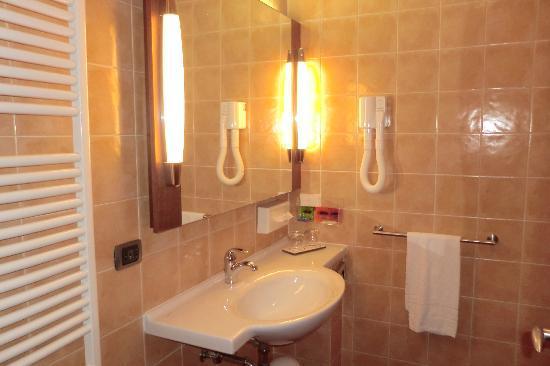First Hotel Malpensa: Clean, shower only, bathroom
