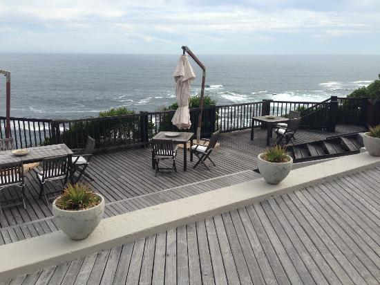 Plettenberg Park Hotel & Spa: Outdoor Terrace