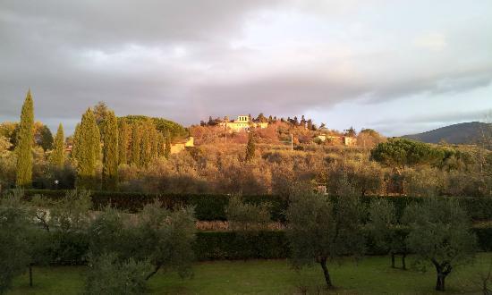 Hotel Villa Cappugi: Blick aus dem Zimmer gen Norden