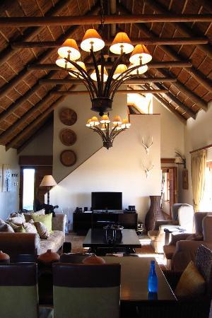 Gondwana Game Reserve: Living Area
