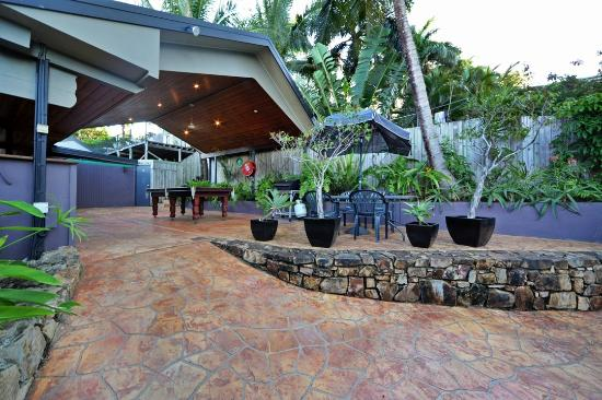 Airlie Beach Motor Lodge: Entertainment Area