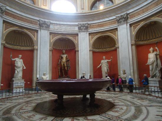 Vatikanstadt, Italien: Interior del museo