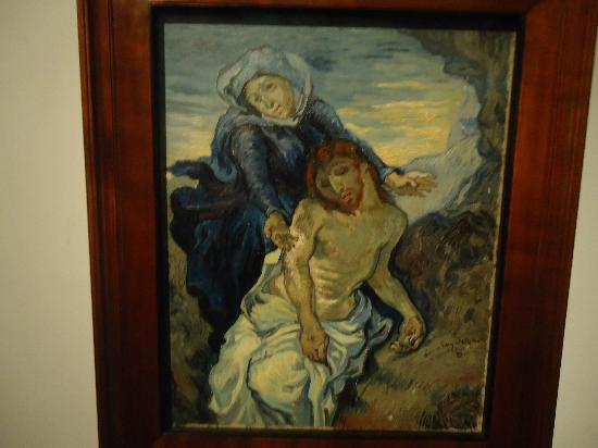 Vatikanstadt, Italien: Pintura del Museo Contemporaneo