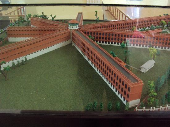 cellular jail structure