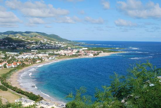 St. Kitts Marriott Resort & The Royal Beach Casino: View from hill