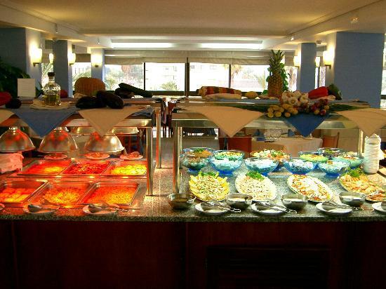 Hotel Playas de Torrevieja: Buffet libre