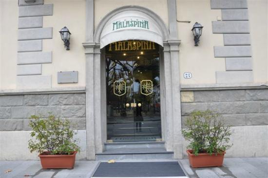 ingresso hotel malaspina