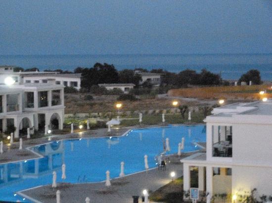 Levante Beach Resort Rhodes Map