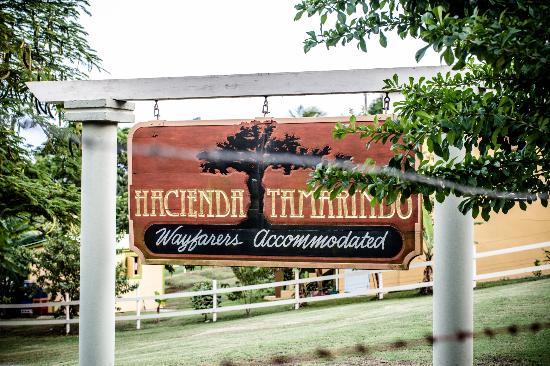Hacienda Tamarindo: signage