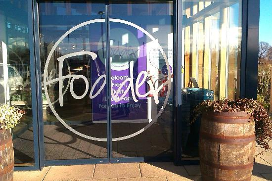 Fodder Cafe: The entrance