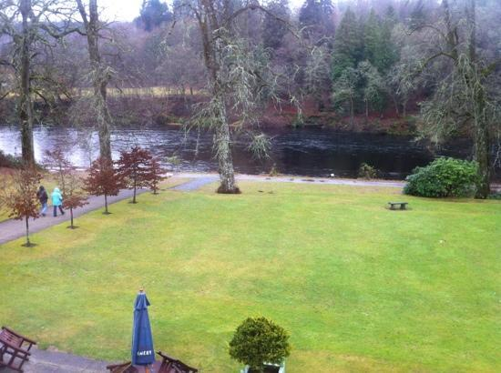Dunkeld House Hotel: view from the atholl suite