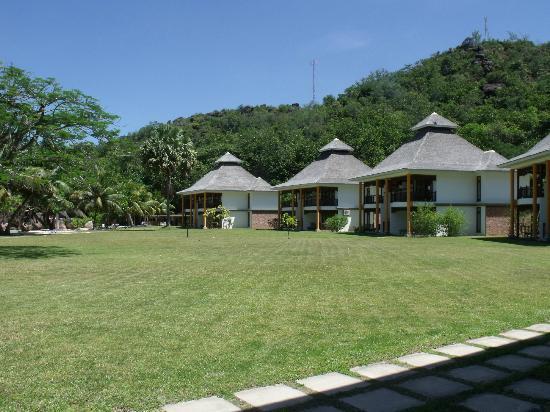 Le Domaine de La Reserve: vue de la terrasse
