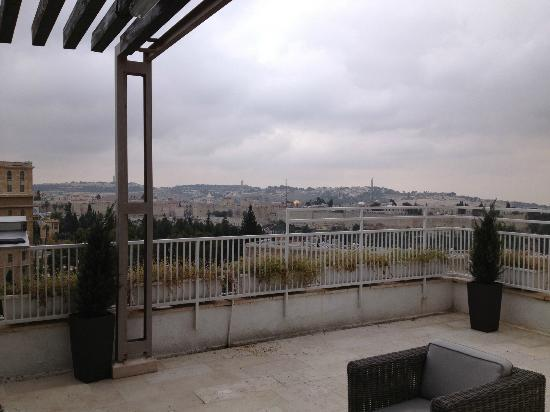 دان بانوراما القدس: View from the room 