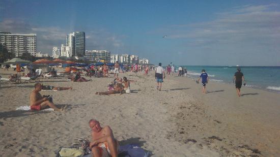 Z Ocean Hotel South Beach : Beach