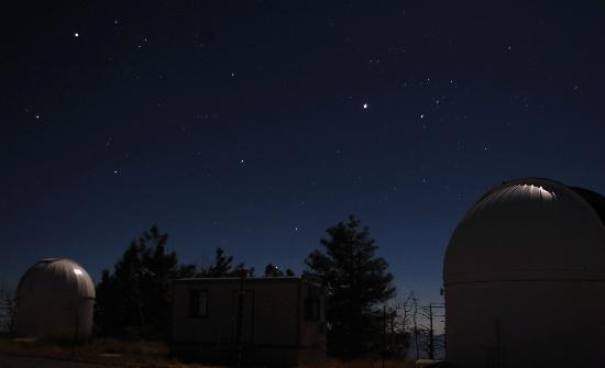 Mt. Lemmon SkyCenter Observatory: Photo from up at Mt Lemmon with my Nikon D40
