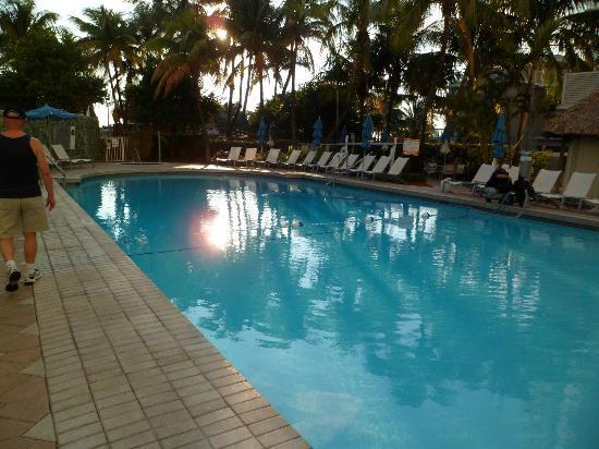 Courtyard Cadillac Miami Beach/Oceanfront : Piscina