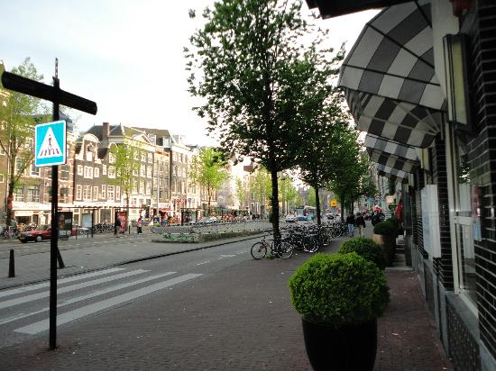 WestCord City Centre Hotel Amsterdam: street view