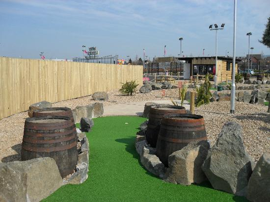 Junction Jack's Mini Golf: Hole 14