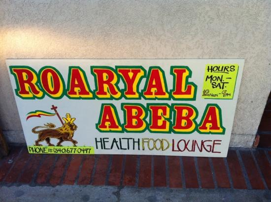 Roaryal Abeba Health Food: great vegan food on STJ!!
