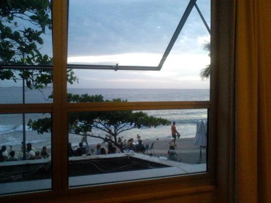 Hotel Arpoador: Vista do apartamento 201.