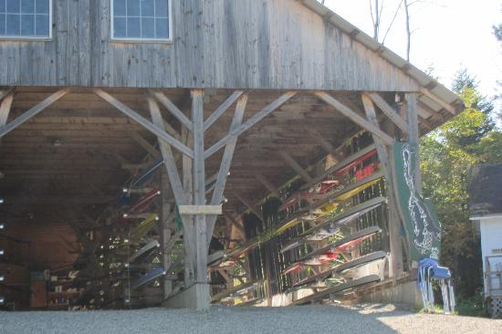 Craftsbury Sports Center: boathouse
