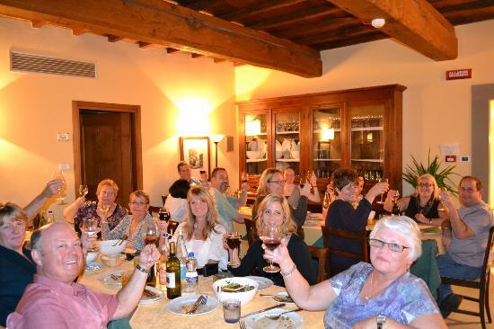 Le Fonti a San Giorgio: Family Style dinner