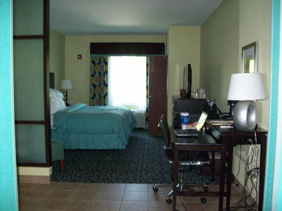 Comfort Suites at Fairgrounds - Casino : Our Room
