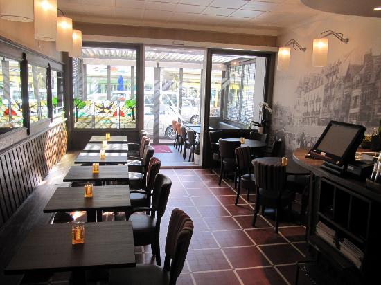 Westende, Belgien: de brasserie