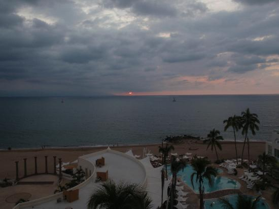 Hilton Puerto Vallarta Resort: View from 7th Floor