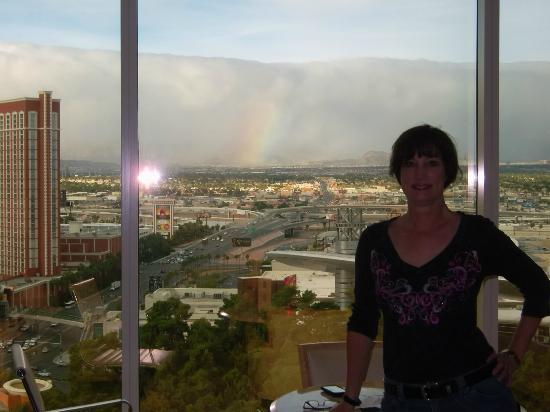 Wynn Las Vegas: Rainbow from the room