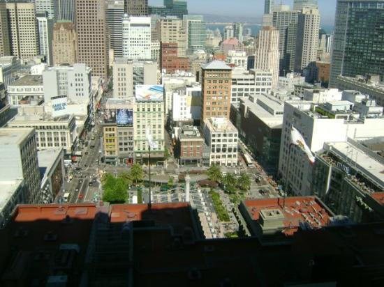 The Westin St. Francis San Francisco on Union Square: from our room view of the city