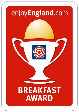 ‪‪Wyndham Park Lodge‬: Breakfast award 2012‬