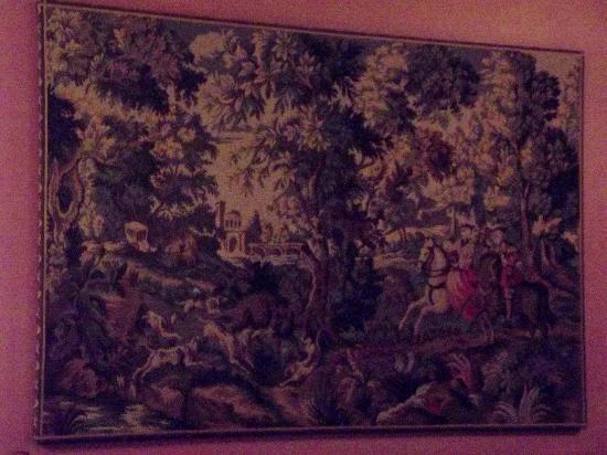 Bavarian Inn Restaurant: Hunting Tapestry