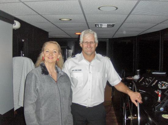 SunQuest Cruises: Me with Captain Steve
