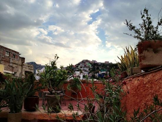 Alma del Sol Bed & Breakfast Inn: rooftop garden