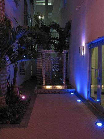Congress Hotel South Beach: Front dest entrance
