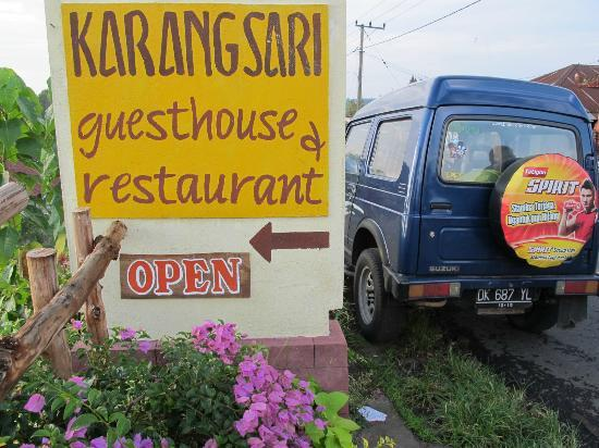 Karangsari Guest House: entrée