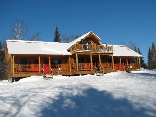 Chalets Restigouche : Large cottage (6 bedrooms)