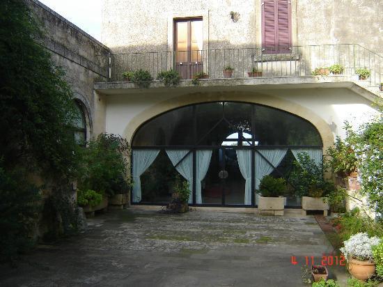Masseria Gattamora: hotel recepção