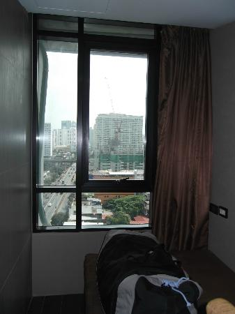 Bangkok City Hotel: View from room