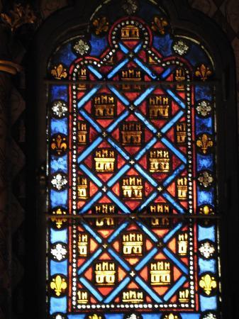 Santa Capilla: Lindos os vitrais.